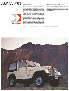1983 Jeeps for Mexico