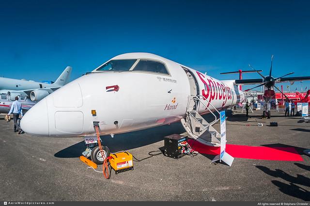 [LBG.2019] #SpiceJet #SG #De.Havilland.Canada #Q400 #VT-SQI #PAS19 #awp