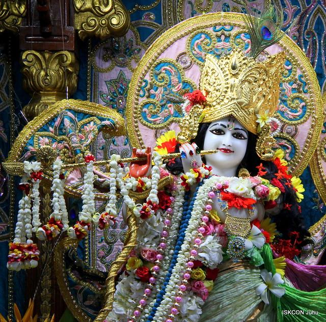 ISKCON Juhu Sringar Deity Darshan on 21st June 2019