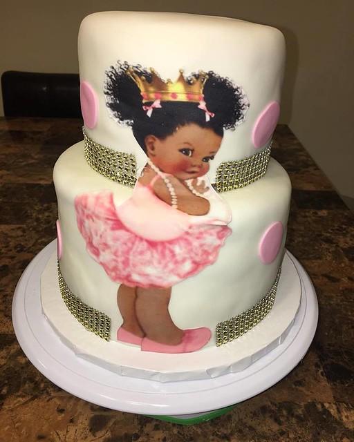 Baby Princess Cake by Kupcake Kreations
