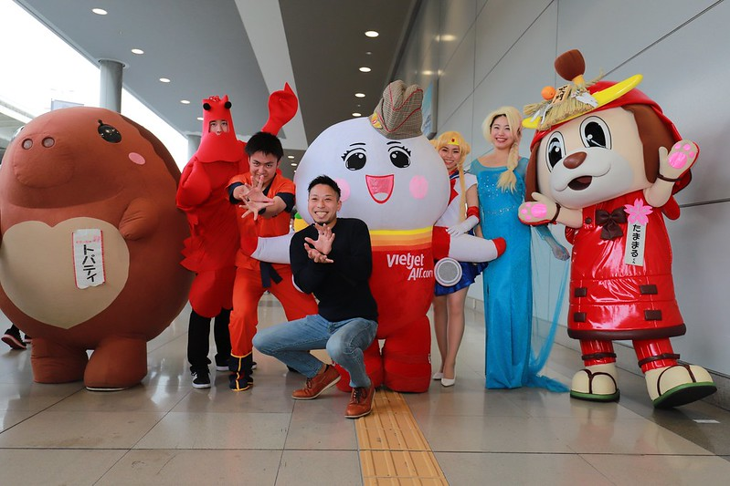 Let's cosplay and fly with Vietjet