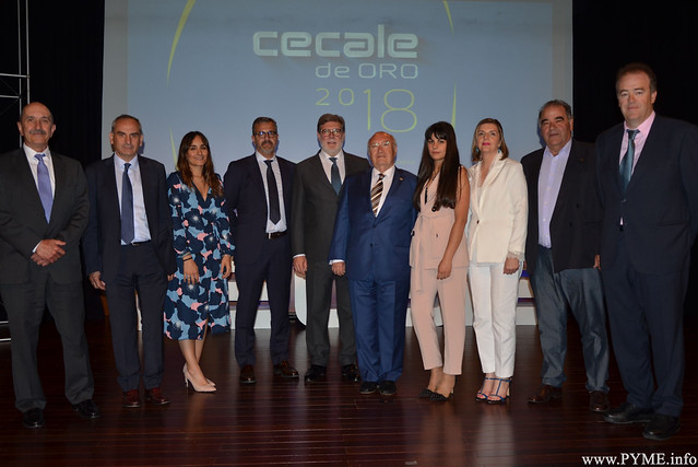 La Fundación Hospital General de la Santísima Trinidad galardonada en Burgos en la ceremonia autonómica de los Premios CECALE de Oro 2018