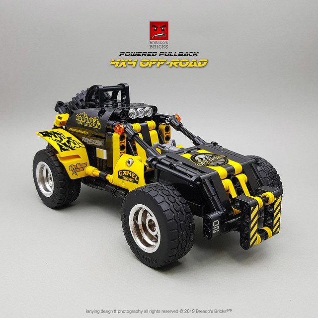 LEGO Technic Off-Roader Pull-Back Motor