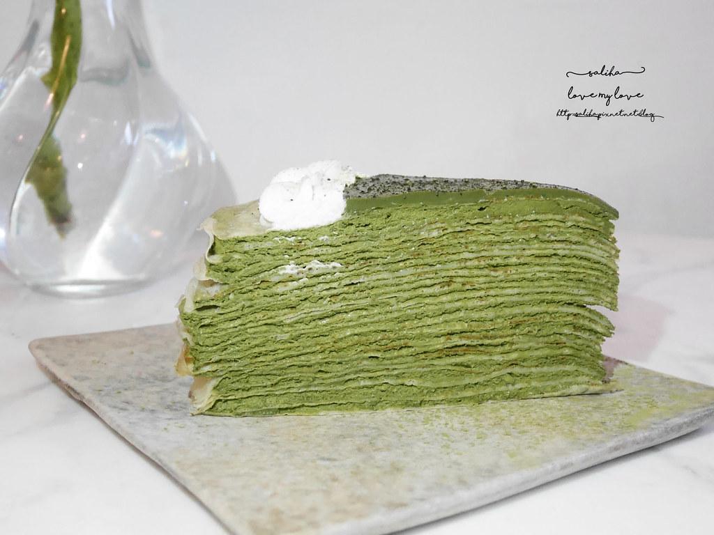 台北大安區科技大樓站好吃甜點推薦果果Guoguo抹茶千層蛋糕咖啡廳 (2)