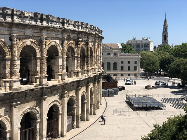 Anfiteatro romano de Nimes (Las Arenas)