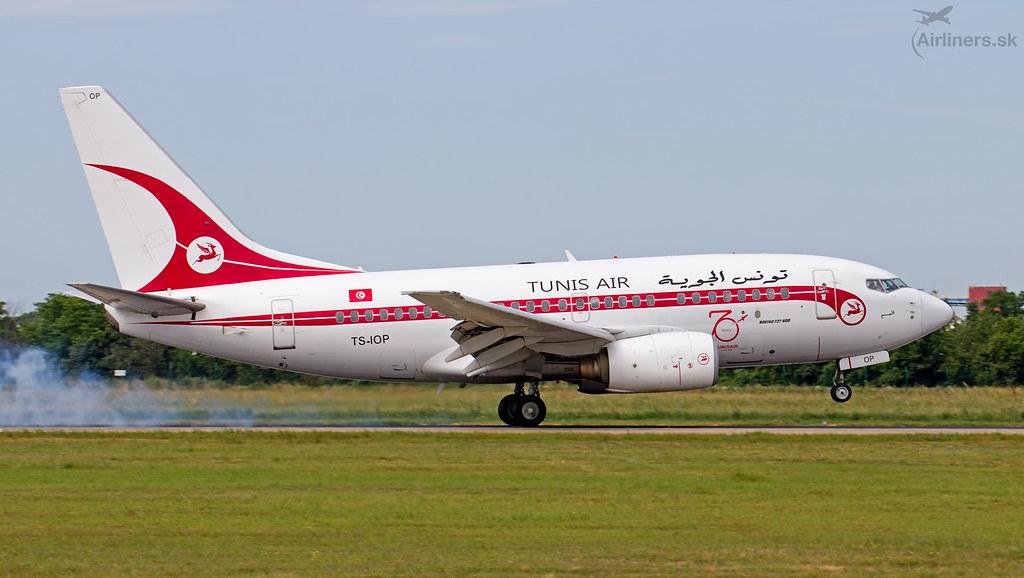 TS-IOP Tunisair Boeing 737-6H3