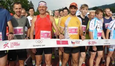 Kolárik vyhrál Olympijský běh ve Zlíně