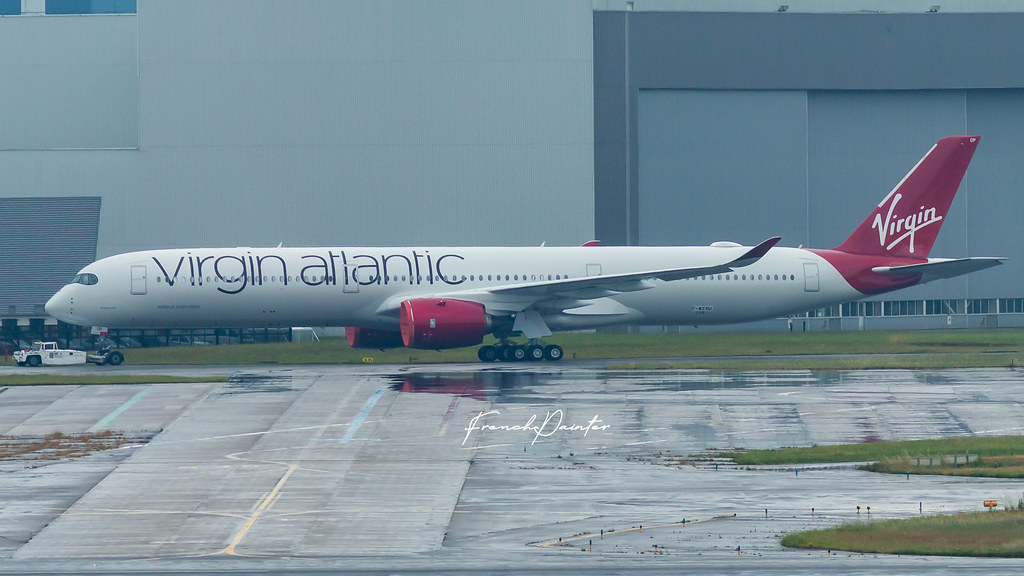 Airbus A350-1000 Virgin Atlantic G-VPOP