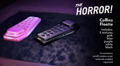 The Horror!~ Coffinz Floatie @ Saturday Sale