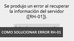 Cómo solucionar el error RH-01 de la Play Store