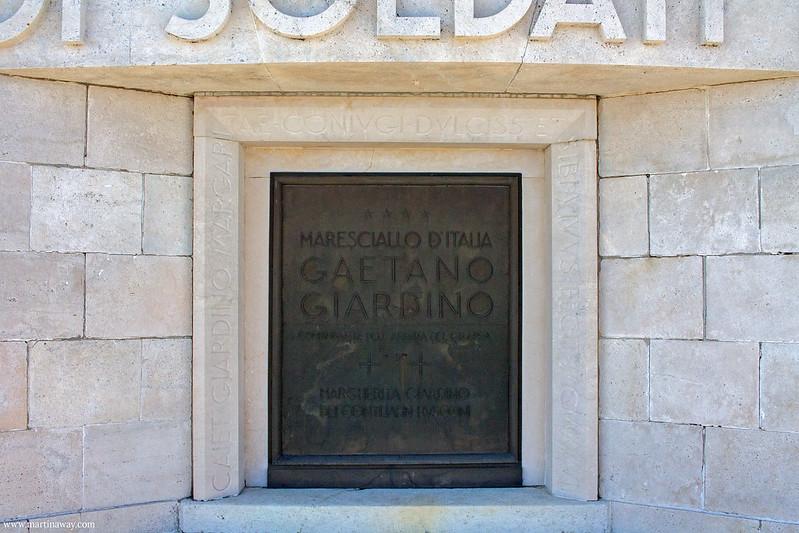 Maresciallo Gaetano Giardino