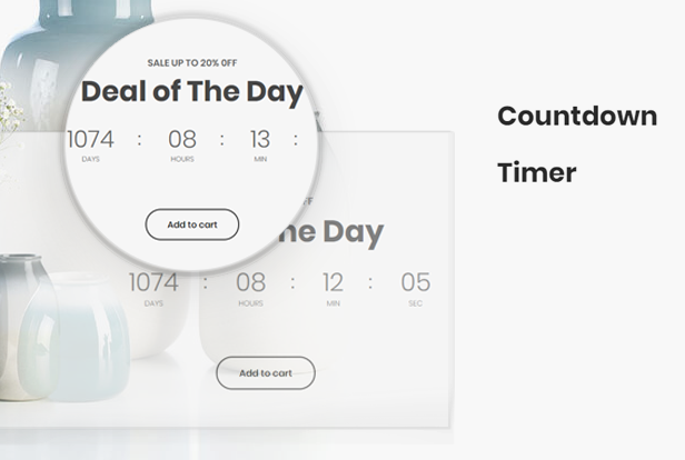 Countdown timer FOR EVENTS & promotion