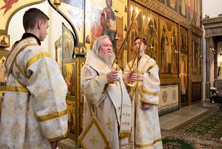 18.06.2019 | Богослужение в Хутынском монастыре
