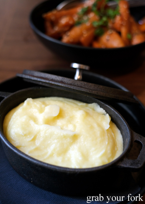 Potato puree at Esquire Drink and Dine in the QVB, Sydney