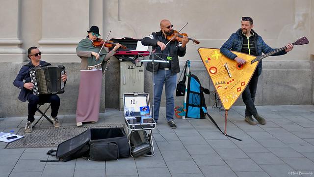 Germany: Munich street musicians