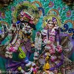 ISKCON Vrindavan Deity Darshan 21 June 2019