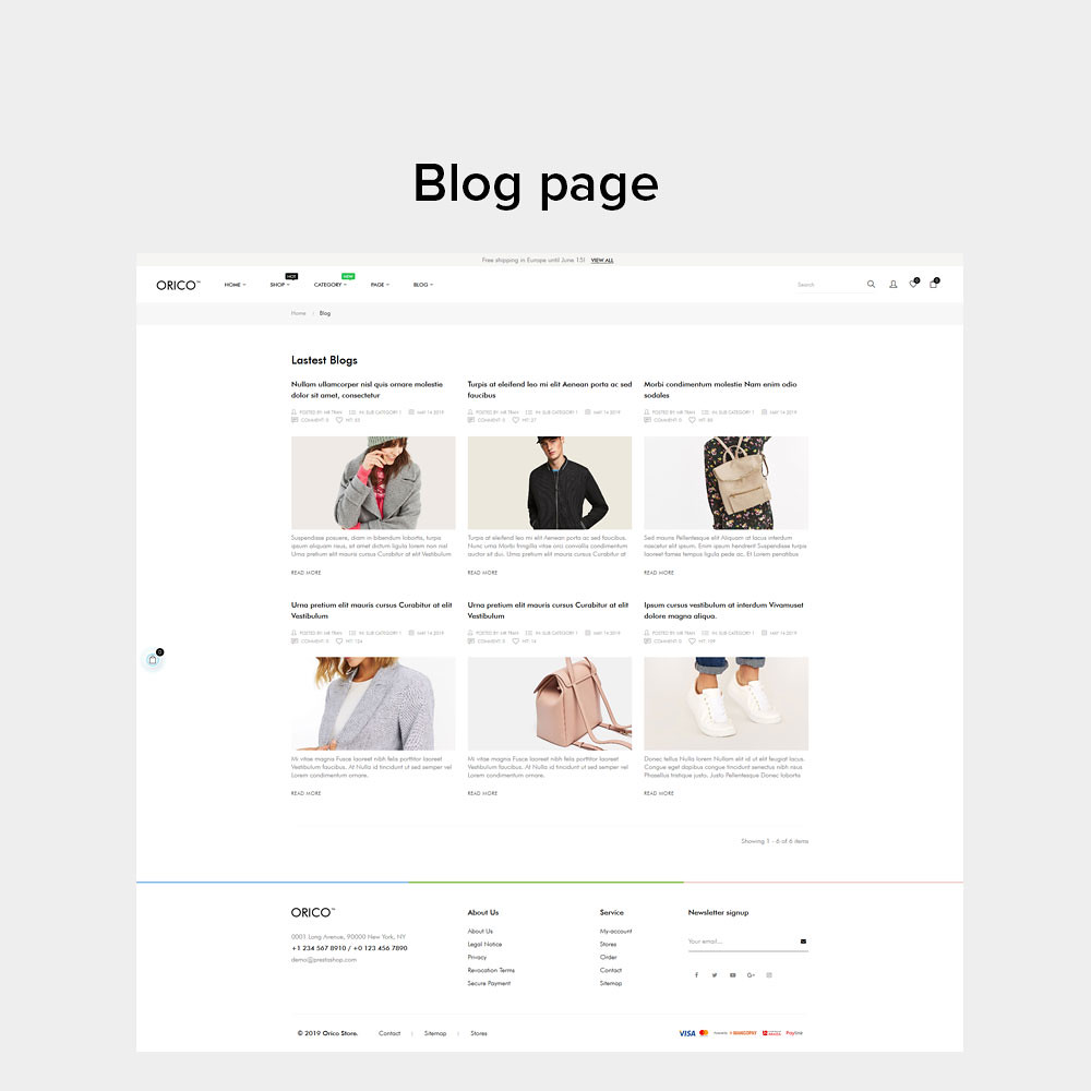 11.smart blog module-orico unisex fashion prestashop theme