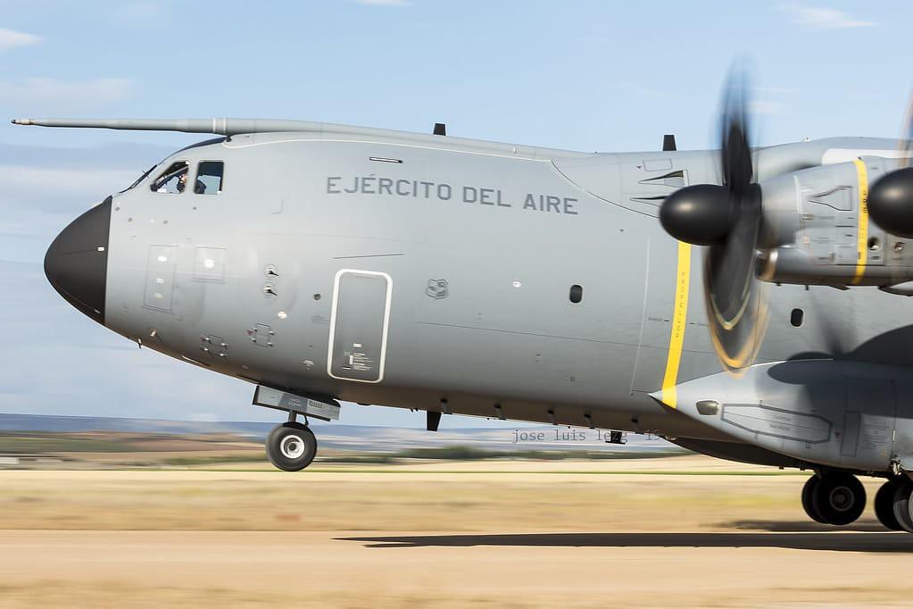 A400M del Ejército del Aire en el EATC 2019