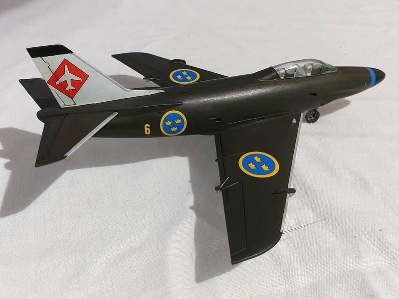 Saab A 32A Lansen Heller 1/72 48102363107_87d5cc4a5e_c