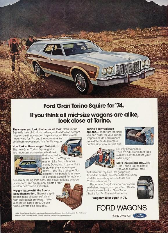 1974 Ford Grand Torino Squire