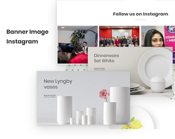 attractive image banner responsive & auto-UPDATE newest image boutique instagram