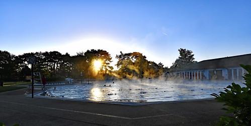 hinkseypool oxford nikond850 nikonafsnikkor1635mmf40gedvr summersolstice outdoorswimming sunrise two