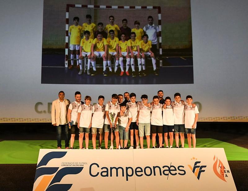Campeones Infantil A futsal