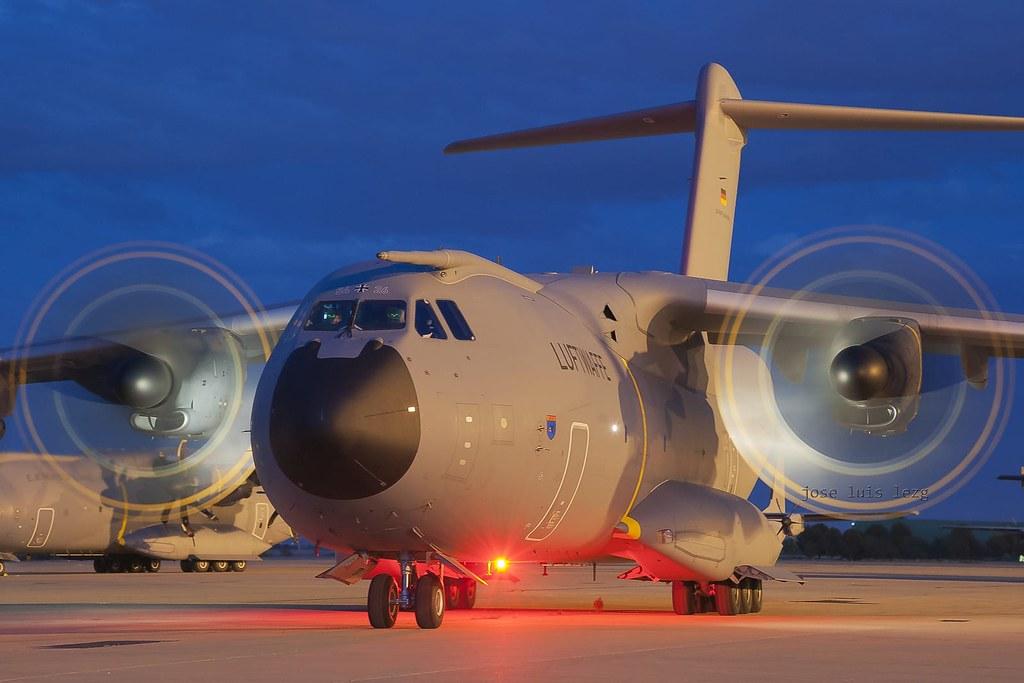 A400M Luftwaffe en el EATC 2019
