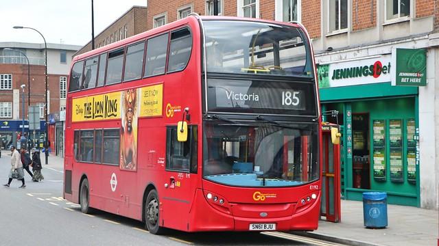 Go Ahead London Central - E192 - SN61BJU