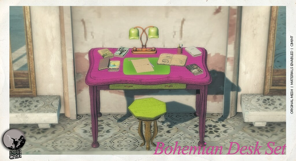 Bohemian Desk : Exclusive for the SLB16 shopping event, (now open )