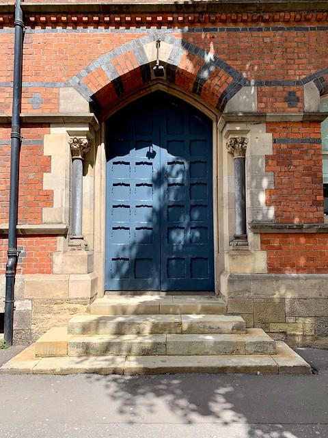 Doorway in May Street, Belfast