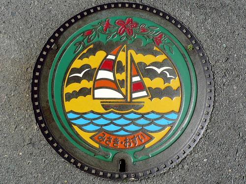Misaki Osaka, manhole cover (大阪府岬町のマンホール)
