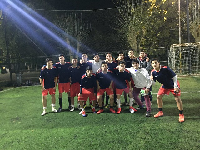 Partido futbol amistoso sub 18 CEAT frente a Colegio Concepción San Pedro