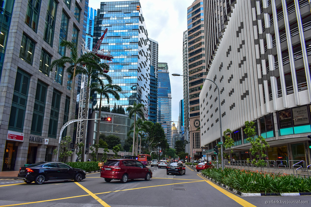 Битва Сингапура против автомобиля
