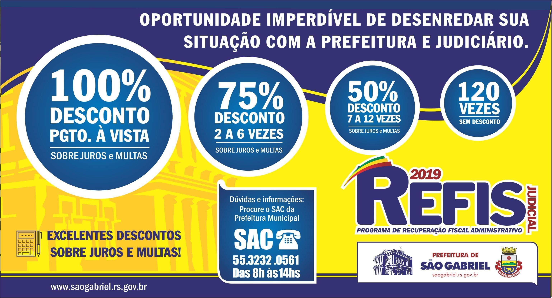 Renegocie suas dívidas judiciais com a Prefeitura com o REFIS Judicial