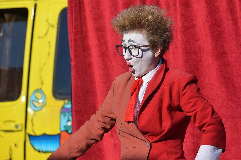 la caravane des clowns