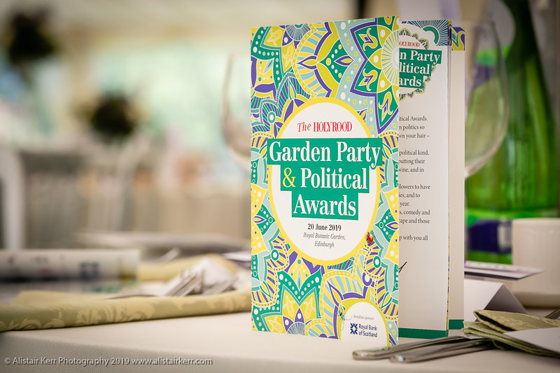The Holyrood Garden Party and Political Awards 2019