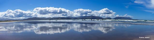 Inch Beach in Ireland, Europe