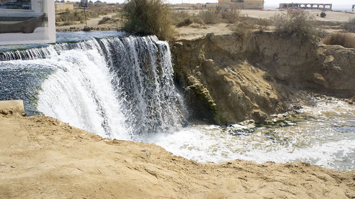 Fayoum's Wadi El-Rayan first water fall | by Kodak Agfa
