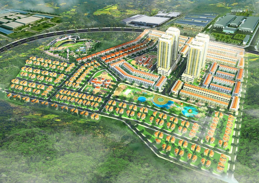 phối cảnh Tổng quan dự án Phú Mỹ Gold City
