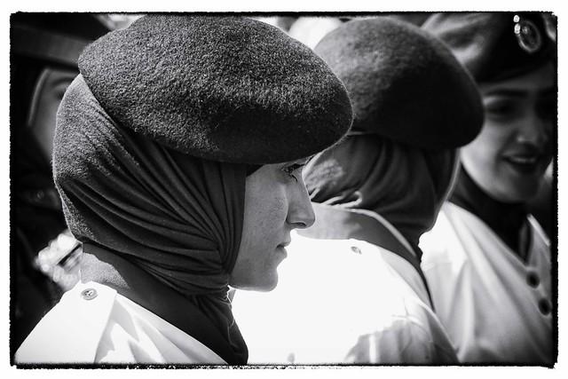 Oman in zwart wit