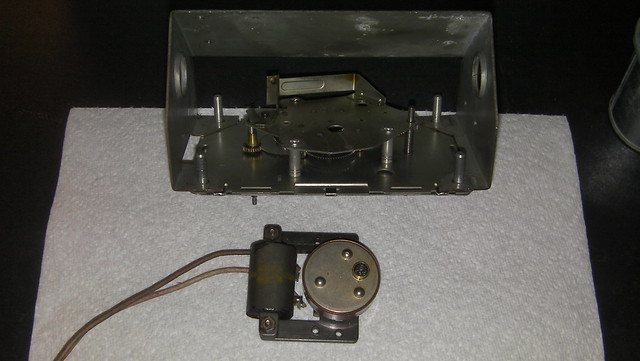 Clock/timer electric motor