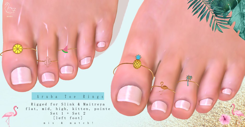 Aruba Toe Rings