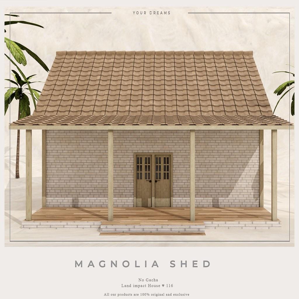 {YD} Magnolia Shed