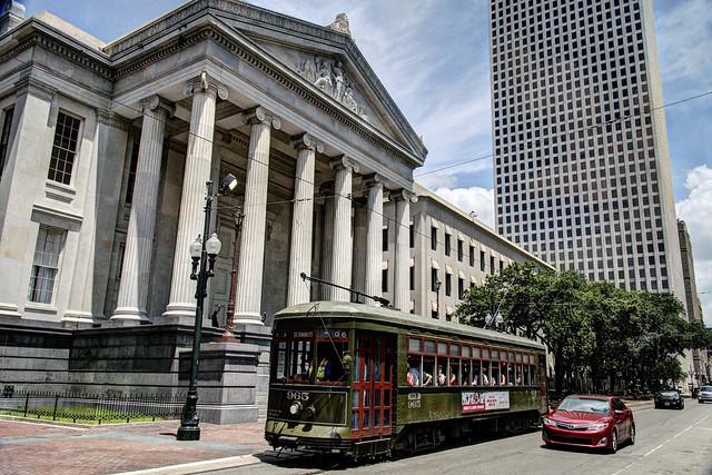 US LA New Orleans RTA Perley Thomas 965 - St Charles-Lafayette Sq a