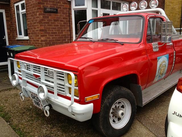 Chevrolet 6.2Litre Diesel Truck