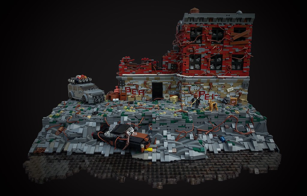I AM LEGEND (custom built Lego model)