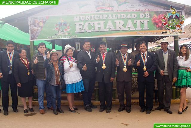 Echarati presente en la feria de Huancaro - Cusco