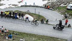 Tour de Suisse staage 7 St. Gotthard Pass