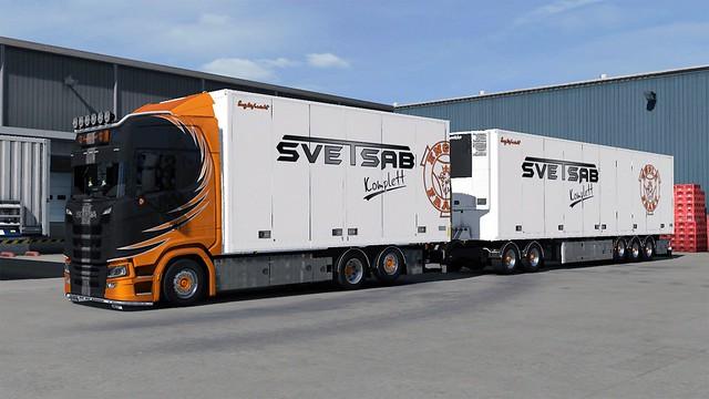Scania NG S Englafrakt